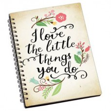 Deals, Discounts & Offers on Gaming - Flat 67% Offer on ShopMantra I Love The Things You Do Notebook