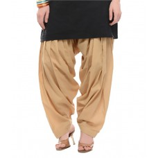 Deals, Discounts & Offers on Women Clothing - Flat 66% Offer on NGT Beige Cotton Patialas
