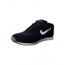 Deals, Discounts & Offers on Foot Wear - Flat 54% Offer on Sports Black Running Sport Shoes