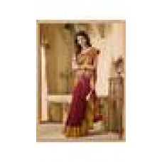 Deals, Discounts & Offers on Women Clothing - Indian Beauty Multi Color Silk Saree at 91% offer