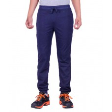 Deals, Discounts & Offers on Men Clothing - Dfh Blue Cotton Trackpant 64% offer