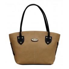 Deals, Discounts & Offers on Accessories - Fostelo Beige P.U. Shoulder Bag at 72% offer