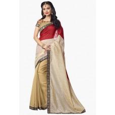 Deals, Discounts & Offers on Women Clothing - Flat 62% off on Womens Banarasi Silk Saree