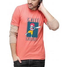 Deals, Discounts & Offers on Men Clothing - Campus Sutra Men Printed Full Sleeves Sheldon T-Shirts
