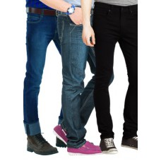 Deals, Discounts & Offers on Men Clothing - Flat 44% off on Style Icon 3 Denims in 3 Colours by Rusty Jones