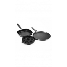 Deals, Discounts & Offers on Home Appliances - Flat 39% Offer on Sumeet Nonstick Trinity Gift Set