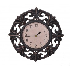 Deals, Discounts & Offers on Home Decor & Festive Needs - Flat 56% Offer on TiedRibbons Wall clock for home Wooden Finished Limited Edition