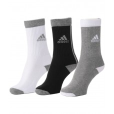 Deals, Discounts & Offers on Foot Wear - Flat 20% Offer on Adidas Men's Full Cushion Crew Socks