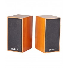 Deals, Discounts & Offers on Electronics - Flat 51% Offer on Envent TrueWood 210 USB powered 2.0 speaker with 6W RMS