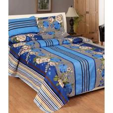 Deals, Discounts & Offers on Home Decor & Festive Needs - Flat 61% Offer on Plus Home Multicolor Designer Cotton Double Bedsheet