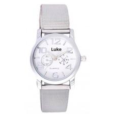 Deals, Discounts & Offers on Accessories - Luke Silver Women Analog Watch