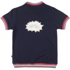 Deals, Discounts & Offers on Baby & Kids - United Colors of Benetton Printed Boy's Henley Dark Blue T-shirt