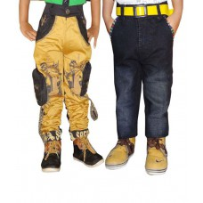 Deals, Discounts & Offers on Baby & Kids - Ad & Av Pack Of Two Trouser And Jeans