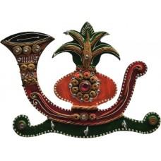 Deals, Discounts & Offers on Accessories - JaipurCrafts Kalash Sahnai Wooden Key Holder