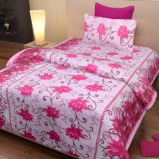 Deals, Discounts & Offers on Home Decor & Festive Needs - IWS Cotton Printed Single Bedsheet