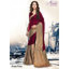 Deals, Discounts & Offers on Women Clothing - Aura Sarees Bollywood Cotton Woven Sari