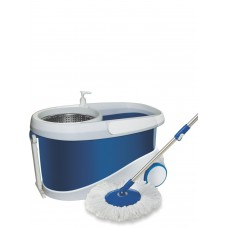Deals, Discounts & Offers on Home Improvement - Gala Jet Spin mop with stainless steel wringer, jumbo wheels and 2 refills