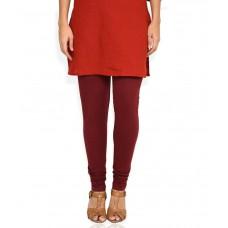 Deals, Discounts & Offers on Women Clothing - Aurelia Red Cotton Legging
