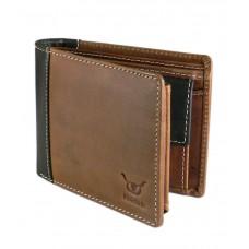 Deals, Discounts & Offers on Accessories - Hidelink Leather Brown Men Formal Wallet