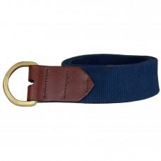 Deals, Discounts & Offers on Accessories - HoneyBadger Navy Canvas Belt for Men