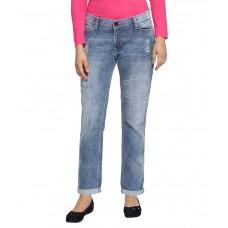 Deals, Discounts & Offers on Women Clothing - Tokyo Talkies Navy Regular Fit Jeans