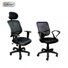 Deals, Discounts & Offers on Home Decor & Festive Needs - Buy 1 Executive Chair Get 1 Office Chair Free
