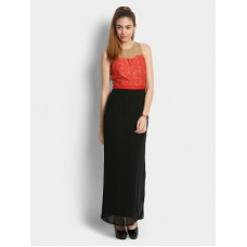 Deals, Discounts & Offers on Women Clothing - Flat 40% off on The Vanca Women Slim Fit Maxi Dress