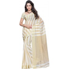 Deals, Discounts & Offers on Women Clothing - Mimosa Woven Banarasi Handloom Cotton Sari