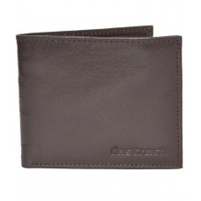 Deals, Discounts & Offers on Men - Fastrack Brown Genuine Leather Wallet For Men