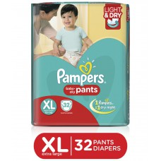 Deals, Discounts & Offers on Baby Care - Pampers Pants Diapers Extra Large Size 32 pc pack