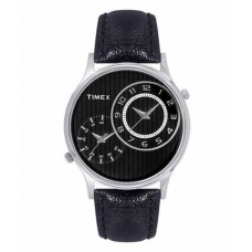 Deals, Discounts & Offers on Men - Flat 70% off on Timex Black Analog Watch for Men