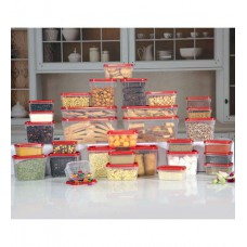 Deals, Discounts & Offers on Storage - All Time Red Polka Storage Set - Set of 31
