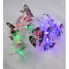 Deals, Discounts & Offers on Home Decor & Festive Needs - Dazzled Downward Multicolour 20 Bulbs Butterfly String Light