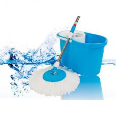 Deals, Discounts & Offers on Home Improvement - Shopper52 Magic MOP 360 Spin Easy Wash