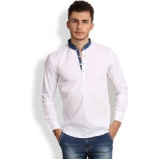 Deals, Discounts & Offers on Men Clothing - Flat 55% off on i-VOC Solid Men's Straight Kurta
