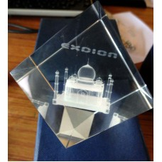Deals, Discounts & Offers on Accessories - Tajmahal Symbol Of Love Personalized 3D Crystal Cube