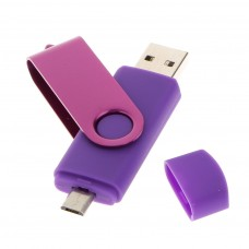 Deals, Discounts & Offers on Computers & Peripherals - Flash Memory 64GB Dual USB Pen Drive