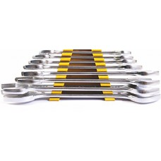 Deals, Discounts & Offers on Accessories - Stanley 70379E Matte Finish Double Open End Spanner Set
