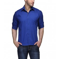 Deals, Discounts & Offers on Men Clothing - TSX Men's Roll Up Sleeves Casual Shirt