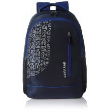 Deals, Discounts & Offers on Accessories - Safari 25 Ltrs Navy Blue Casual Backpack