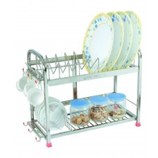 Deals, Discounts & Offers on Home Appliances - Amol Stainless Steel Dish Racks