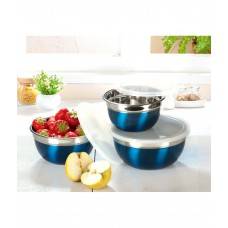 Deals, Discounts & Offers on Home Appliances - Ideale Blue Prepare And Store Bowl