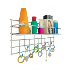 Deals, Discounts & Offers on Home Improvement - Saffron Multi-purpose Bathroom Rack