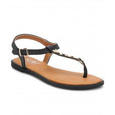 Deals, Discounts & Offers on Foot Wear - Stop Black Sandals