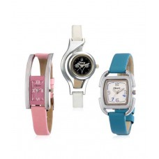 Deals, Discounts & Offers on Women - Set of Three Oleva OVD162 Women's Watches