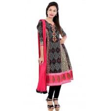 Deals, Discounts & Offers on Women Clothing - RAIN & RAINBOW Printed Salwar Kameez Dupatta