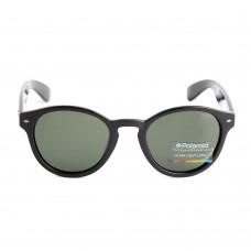 Deals, Discounts & Offers on Accessories - Polaroid Round Black Polaroid Unisex Sunglasses