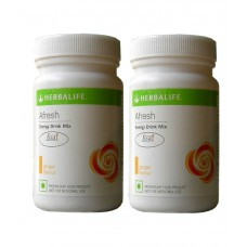 Deals, Discounts & Offers on Health & Personal Care - Herbalife 50g Afresh Energy Drink Mix Ginger Flavour - Powder - Pack of 2