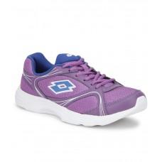 Deals, Discounts & Offers on Foot Wear - Flat 51% off on Lotto Runlite Purple Sports Shoes