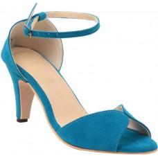 Deals, Discounts & Offers on Foot Wear - Flat 54% off on Adorn Women Blue Heels